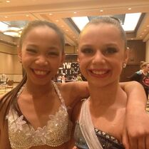Lexine and Talia at ihollywood 2013-01-05