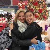 Loree and Jade in December