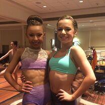 Sophia and Talia 2014-07-14