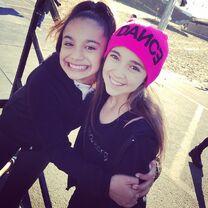 McKenzie Morales and Kaycee Rice 2014-11-02