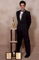 John-Michael-trophy DMA 2011 Mister Dance