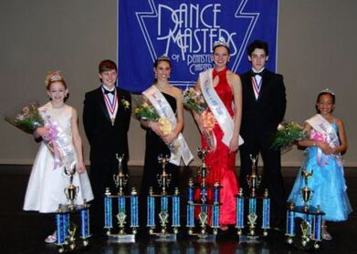 Chloe Lukasiak-Brandon Pent-Alyssa Guerrieri-Nina Linhart-John Michael Fiumura-Kaylea Gallagher-2011 Dance Masters of Pennsylvania Title Winners