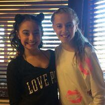 McKenzie and Kayla