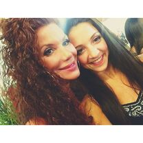Renee and Tessa Wilkinson at ALDC LA Grand Opening 30May2015