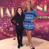 Kimmy Kopke with Rachelle Rak - 2015-07-13