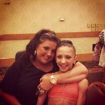 Tessa with Abby 2013-07-21