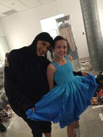 Kaycee Rice with Tricia Miranda