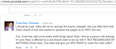 Presenting My New Team Francisco Thurston in Afterbuzz Youtube comments
