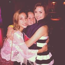 Haley with Sarina Jassy and McKaylee True in LA 2014-11-15