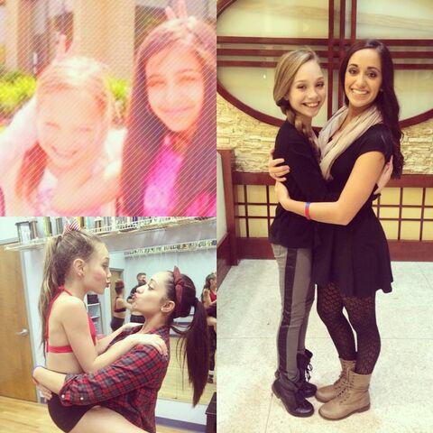 File:Katherinemaya to Maddie on 12th birthday.jpg
