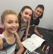Brynn, Kalani and Kendall