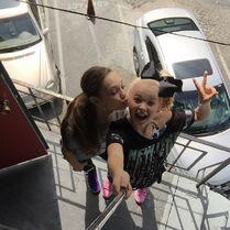 Maddie and JoJo 2015-03-31