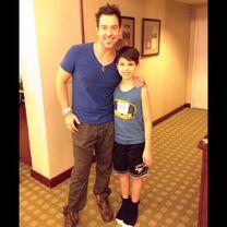 Lucas with Mark Meismer 2014-01-04