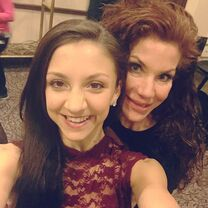 Tessa and mom Renee 2015-03-17