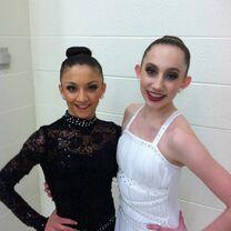 Chloe and Tessa duet - We Go On - via lizaa4444