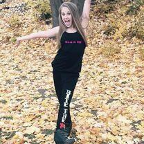 Haley wearing Sas Wear 2014-11-14