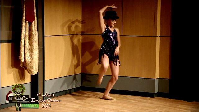 Kendall Vertes (LONELY IN NEW YORK)(''APPLAUSE'' Dance)(TWTB Christmas`14)