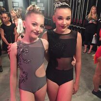 702 Brynn and Kendall backstage