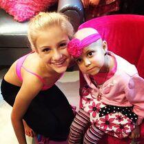 Paige w little girl