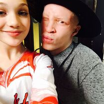 Maddie with Shaun Ross (shaundross) 2015-01-29