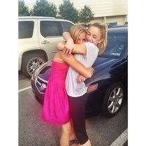 Chloe Paige reunited 18June2014 Paiges Instagram