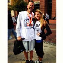 Erno and Ryleigh Columbus marathon 2013-10-20