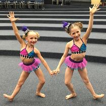 704 Elliana and Lilliana duet costumes