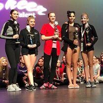 716 Kendall and Brynn at awards