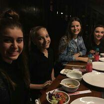 708 Girls at dinner