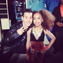 Ricky Palomino and Asia Monet Ray