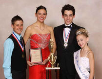 Old ALDC-RDP 2010-2011 DMA Brandon Pent (Teen Mr Dance PA) Nina Linhart (Miss Dance PA) John Michael Fiumara (Mr Dance America) Chloe Lukasiak (Jr Miss Dance PA)
