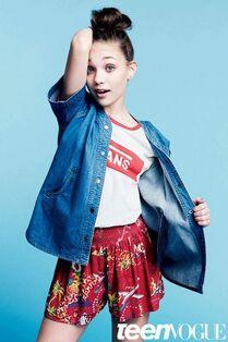 Maddie Teen Vogue April 2015