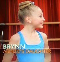 Brynn on her first Dance Moms episode