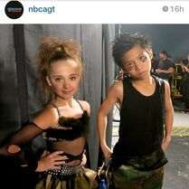 Kaycee Rice and Gabe de Guzman - Americas Got Talent B