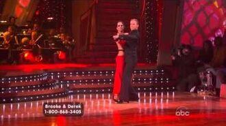 Brooke Burke & Derek Hough - Tango