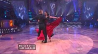 Brooke Burke & Derek Hough - Paso Doble