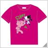 Danganronpa x Mori Chack Tshirt B Pink