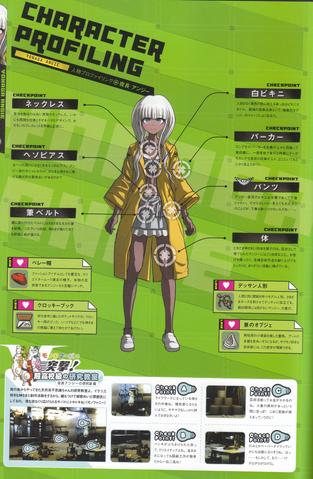 File:Art Book Scan Danganronpa V3 Angie Yonaga Character Profiling.png