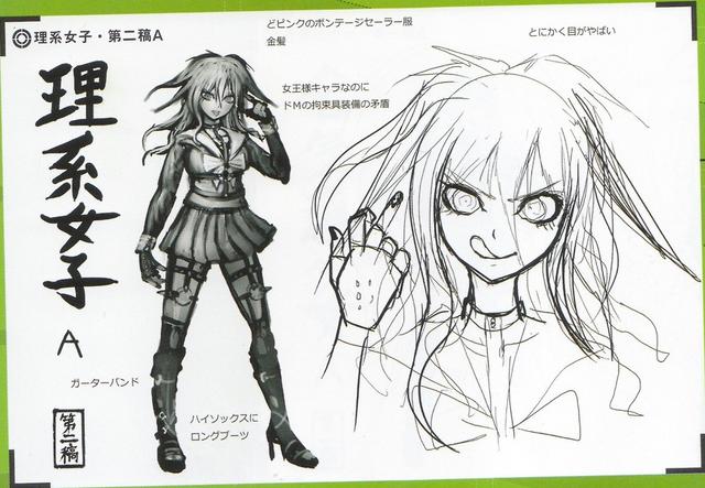 File:Art Book Scan Danganronpa V3 Character Designs Betas Miu Iruma (3).png