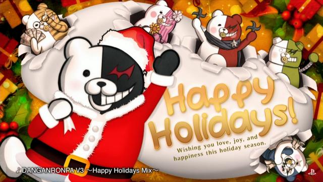 File:Happy Holidays Mix Monokuma.png