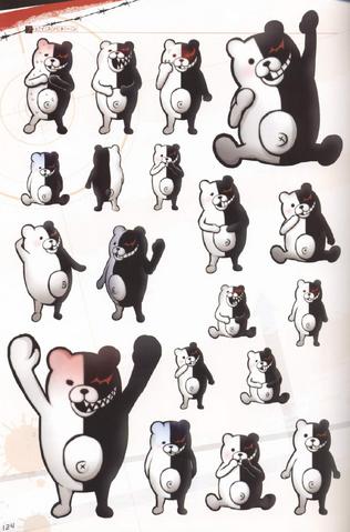 File:Danganronpa Visual Fanbook Monokuma Profile 03.png