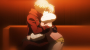 Ruruka and Izayoi's last kiss