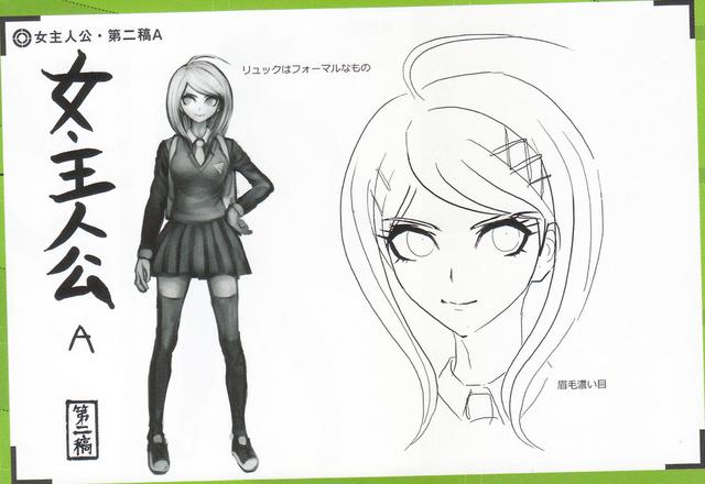 File:Art Book Scan Danganronpa V3 Character Designs Betas Kaede Akamatsu (3).png