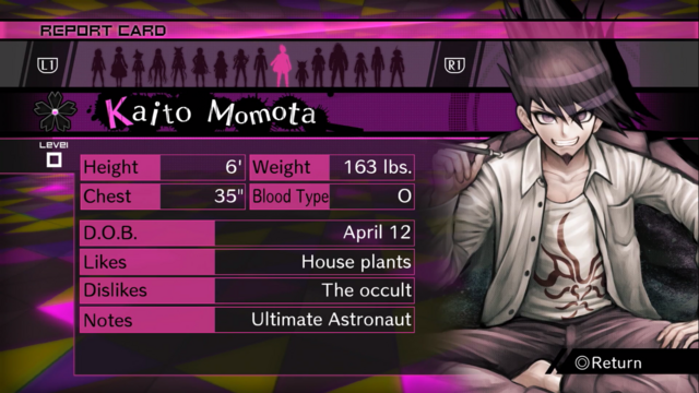 File:Danganronpa V3 Kaito Momota Report Card (Demo Version).png