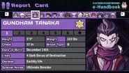 Gundham Tanaka's Report Card Page 1