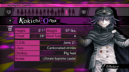 Danganronpa V3 Kokichi Oma Ouma Report Card (Demo Version)