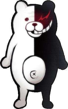 File:Danganronpa 2 Monokuma Fullbody Sprite 02.png