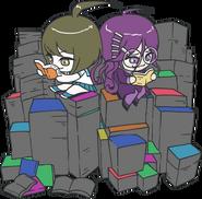 Danganronpa Another Episode Toko Fukawa Komaru Naegi Chibi Books 01