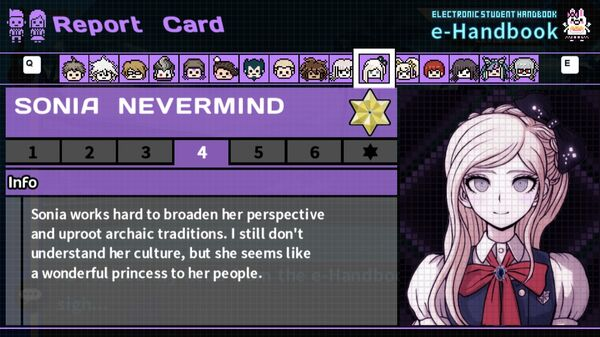 Sonia Nevermind's Report Card Page 4