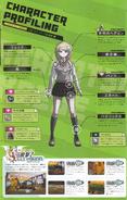 Art Book Scan Danganronpa V3 Kaede Akamatsu Character Profiling